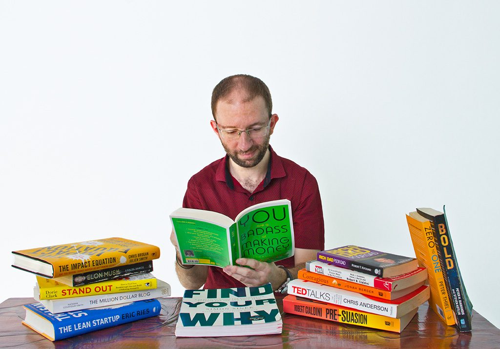 Matt Hutson and books