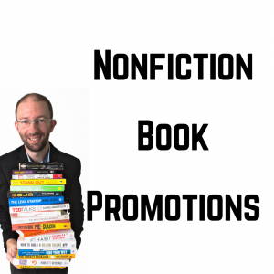 nonfiction book promotions cover