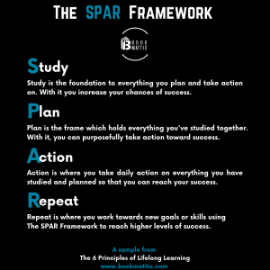 personal development keynote speaker the spar framework