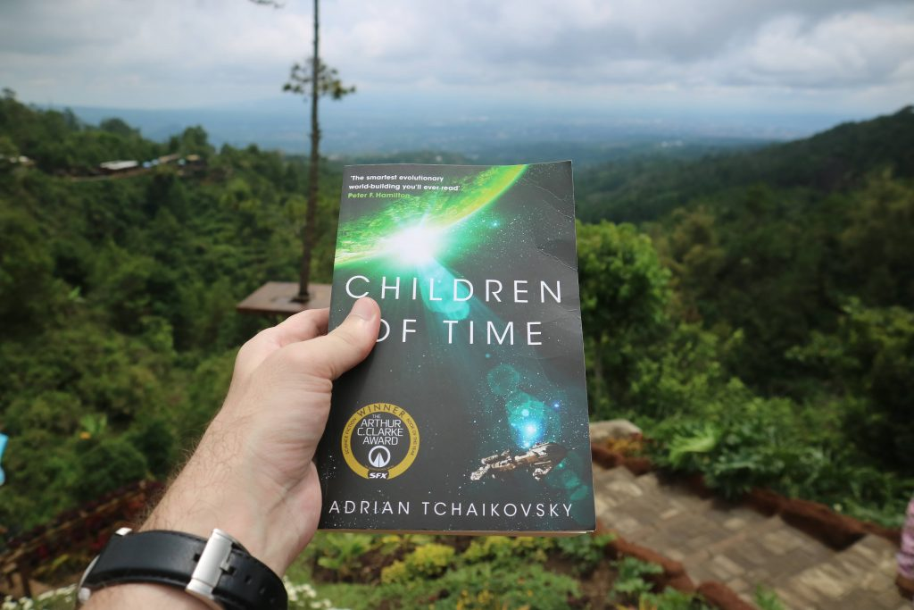 science fiction novel children of time