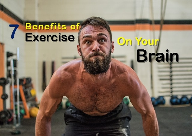 benefits of exercising man lifting weights
