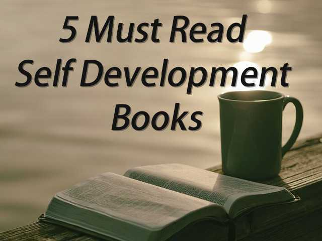 must read self development books cover