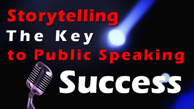 public speaking success