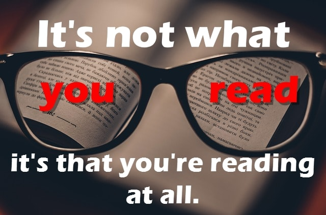 what you read cover