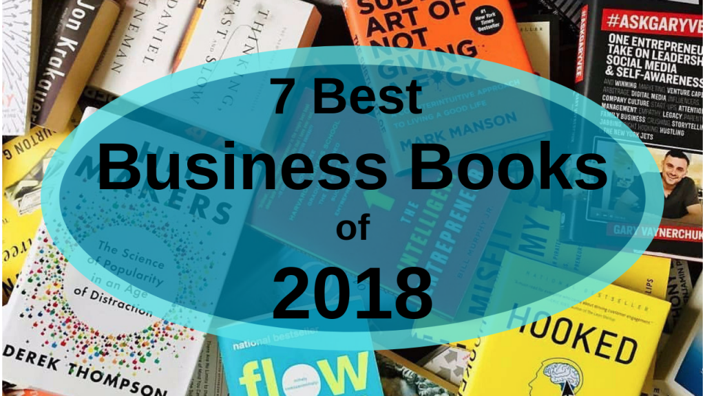 best business books of 2018