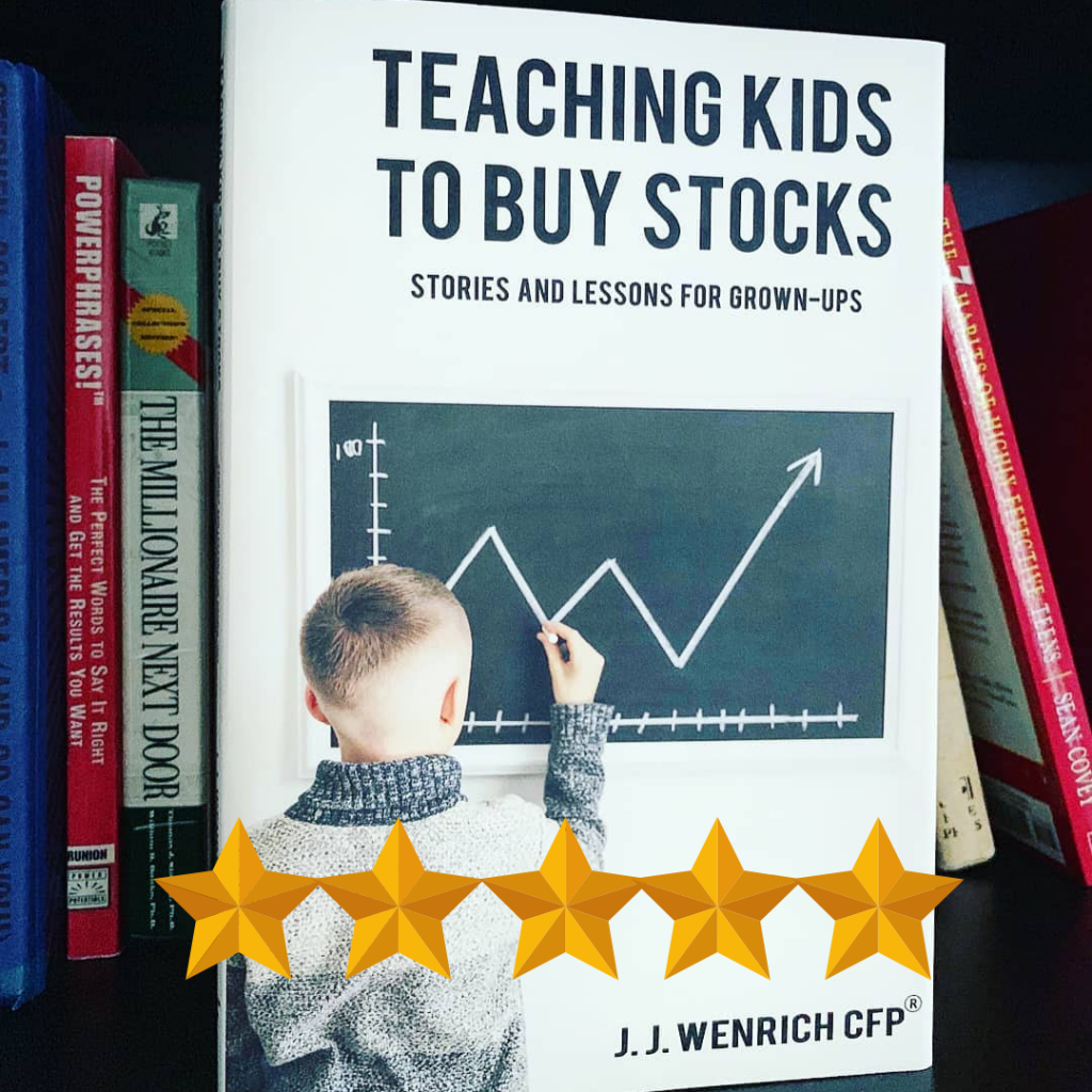 teaching kids to buy stocks cover