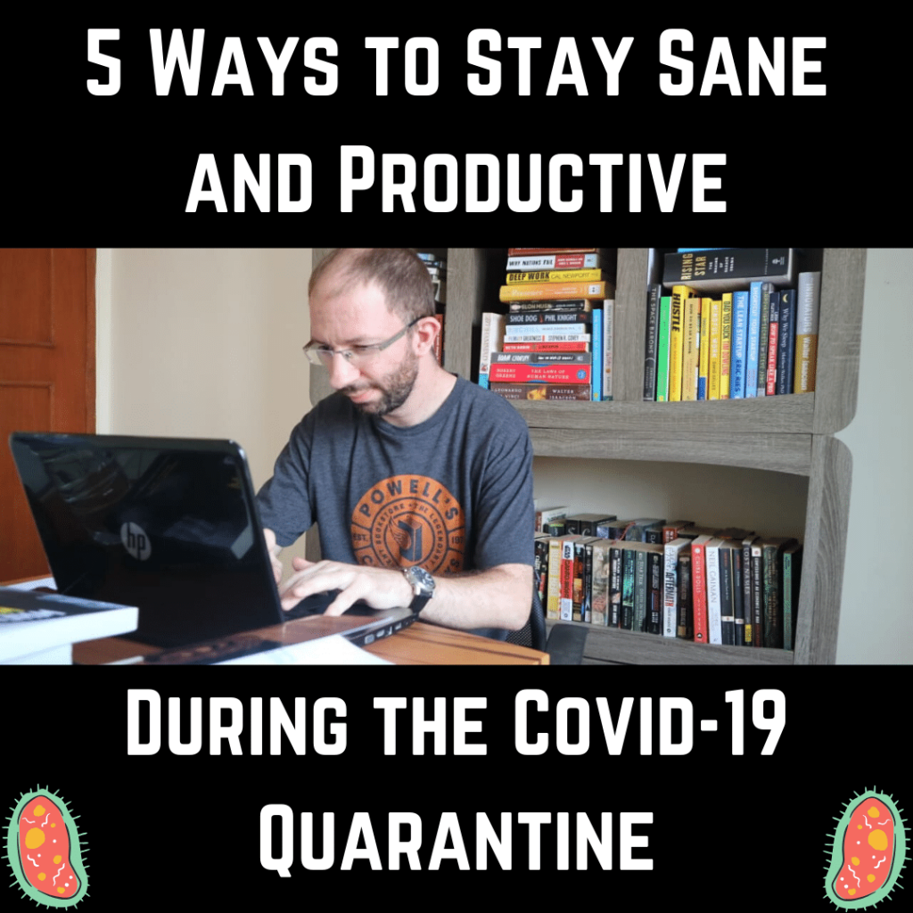 stay sane and be productive office