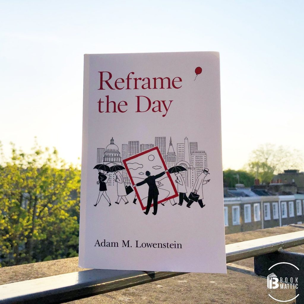 reframe the day by adam book cover