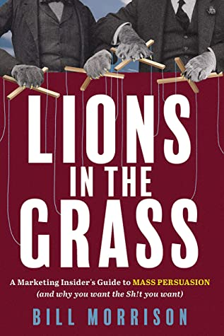 lions in the grass cover