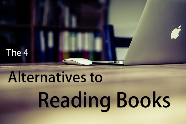 alternatives to reading books cover