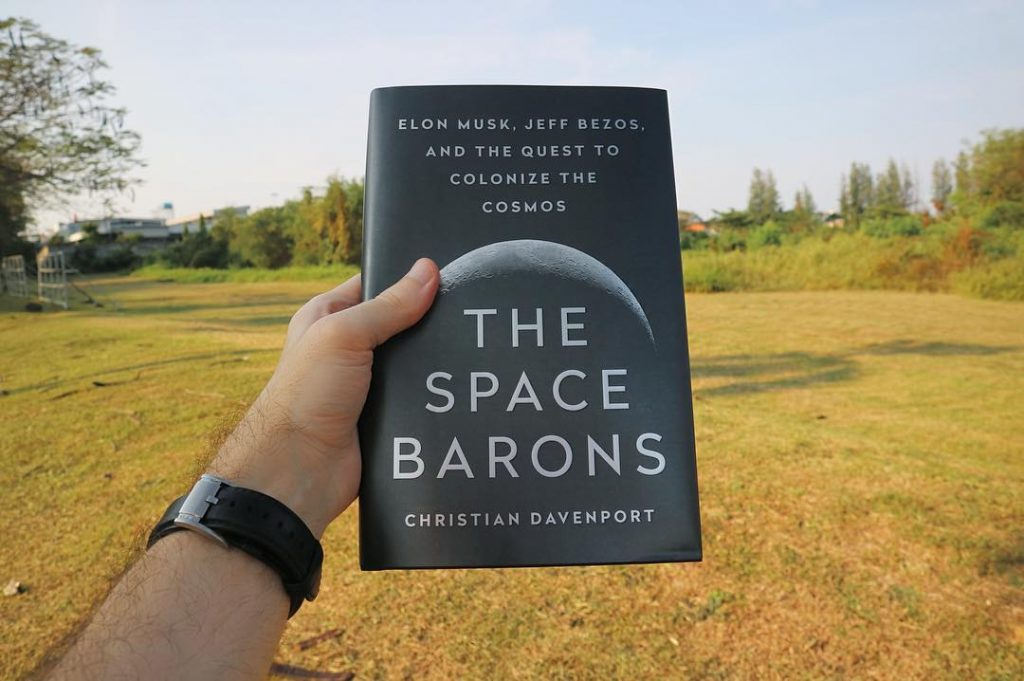the space barons spacex