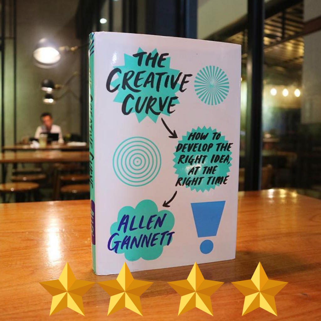the creative curve by allen gannett cover