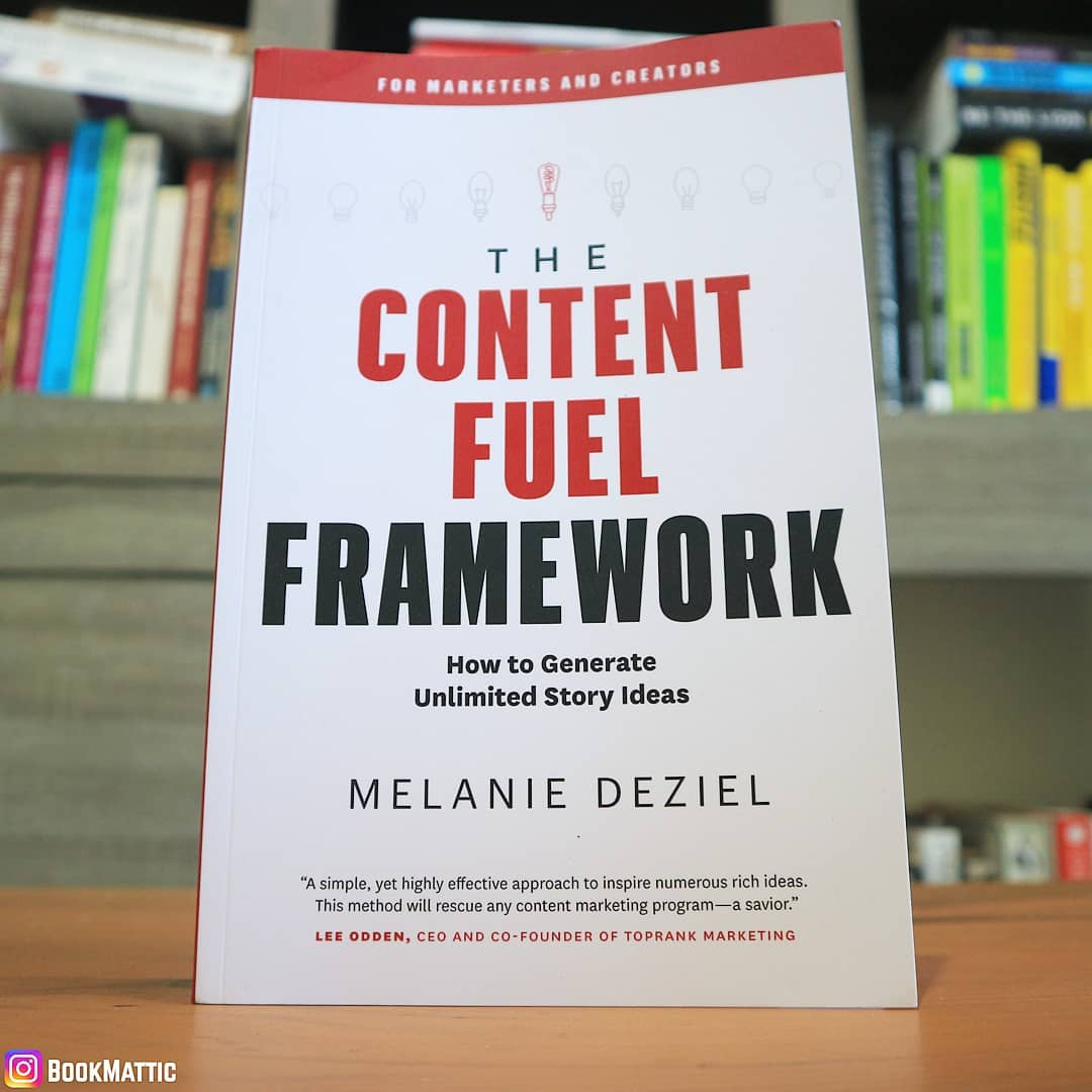 the cover of the content fuel framework