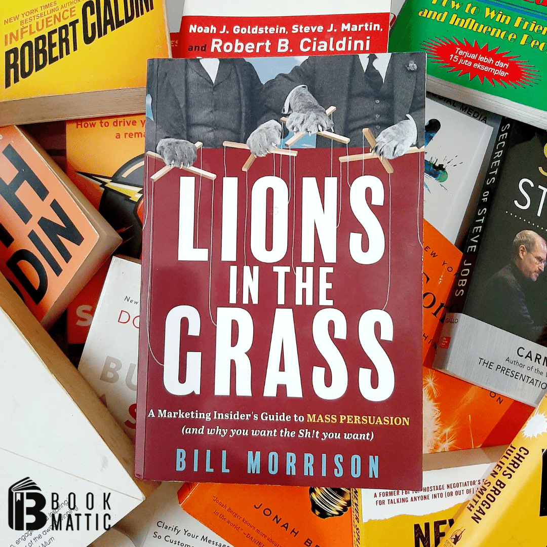 lions in the grass book cover